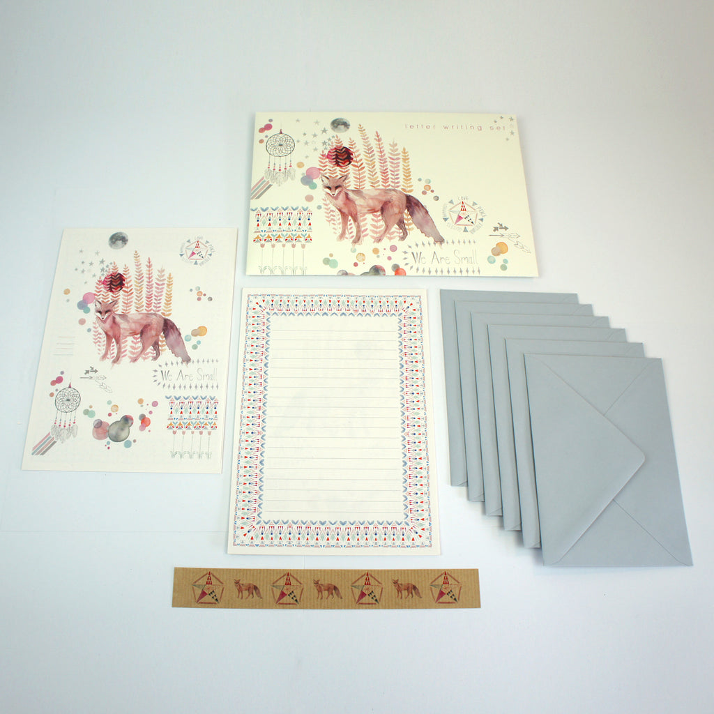 We Are Small Letter Writing Set