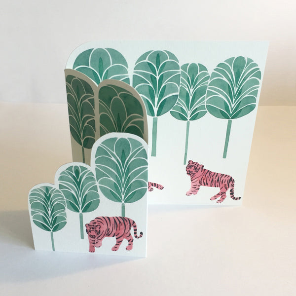 Jungle of Tigers Card