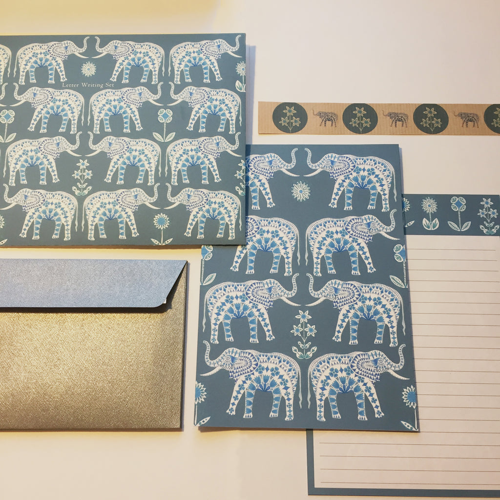 Elephant Tapestry Letter Writing Set