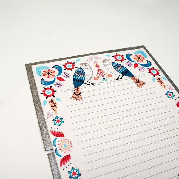 Garden Birds Writing Set