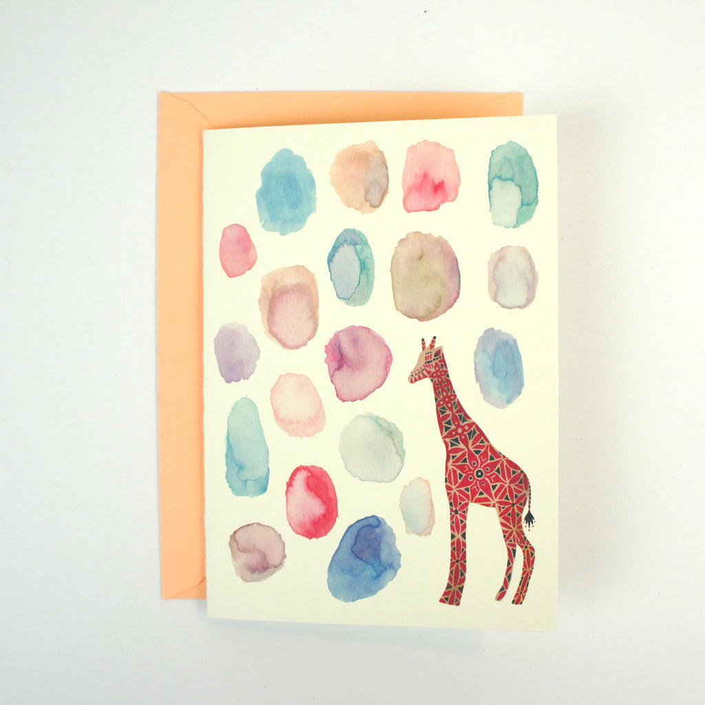 Happiness Giraffe Card