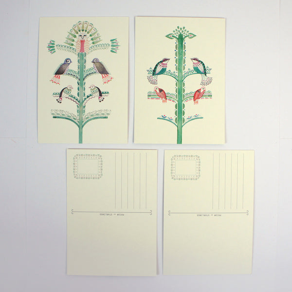 Trees Postcard Book