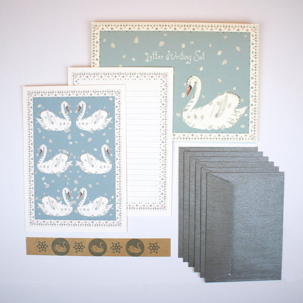 Swans Letter Writing Set
