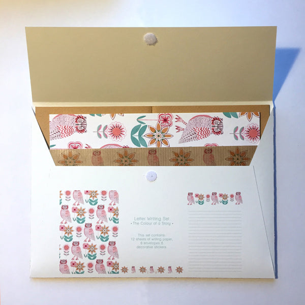 Colour of a Story Letter Writing Set