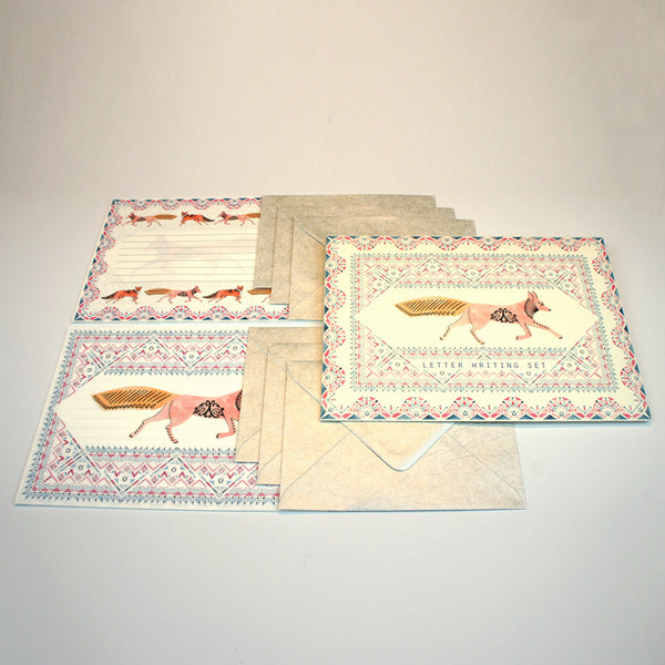 Deco Fox Letter Writing Set
