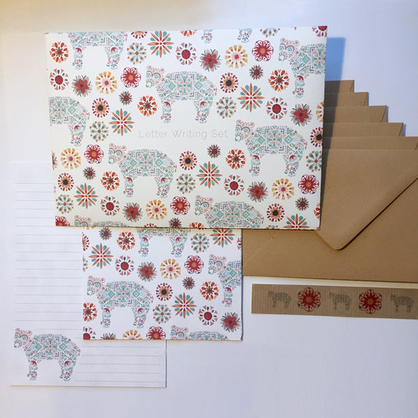Little Bear Letter Writing Set