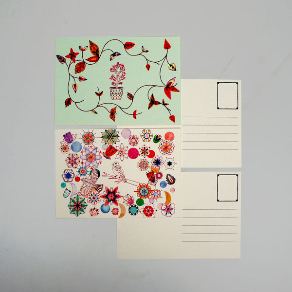 Flowers Postcard Book