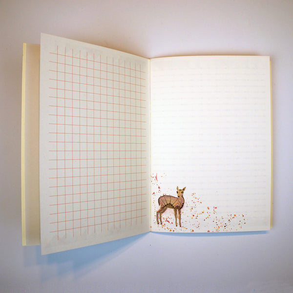 A5 Notebook - Geometric Fawn