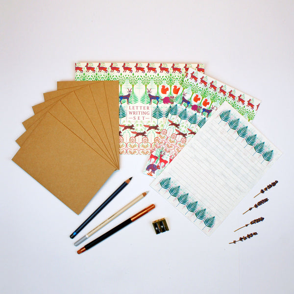 Allegretto Animals Writing Set