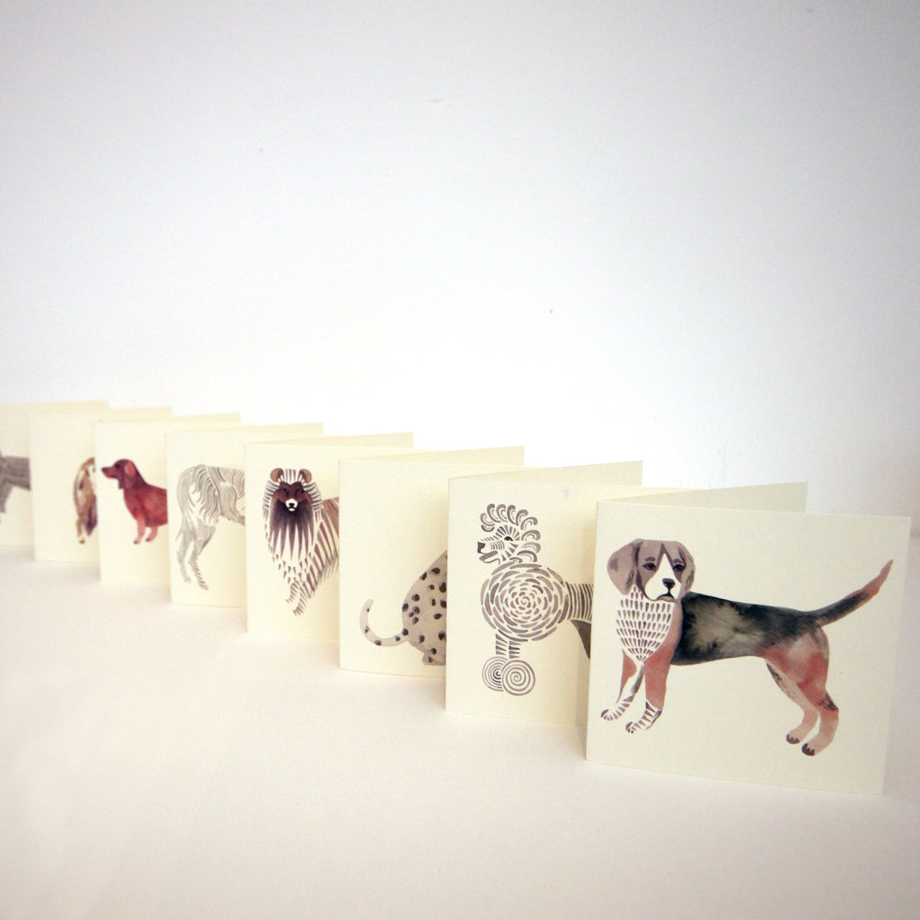 Dog Mini Card