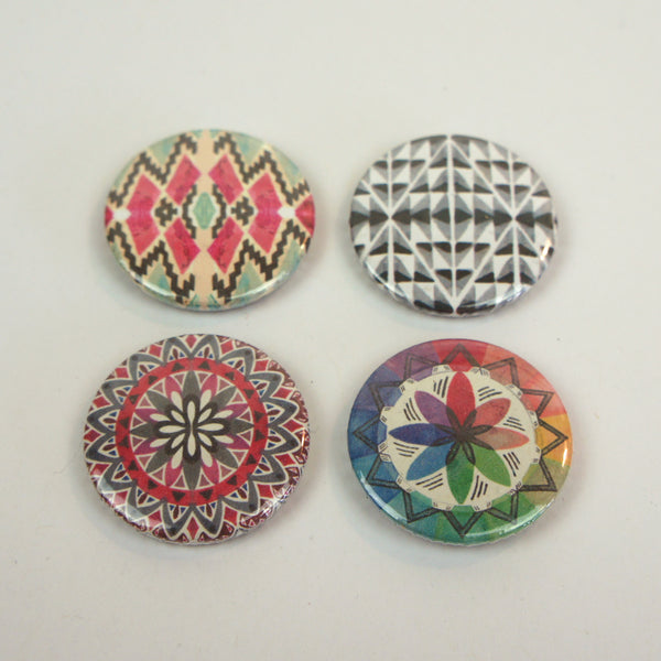 Geometric Badges