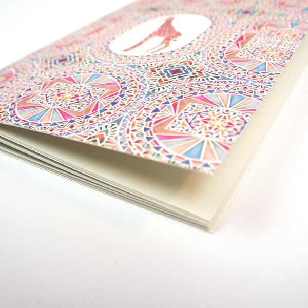 A5 Plain Notebook - Giraffe
