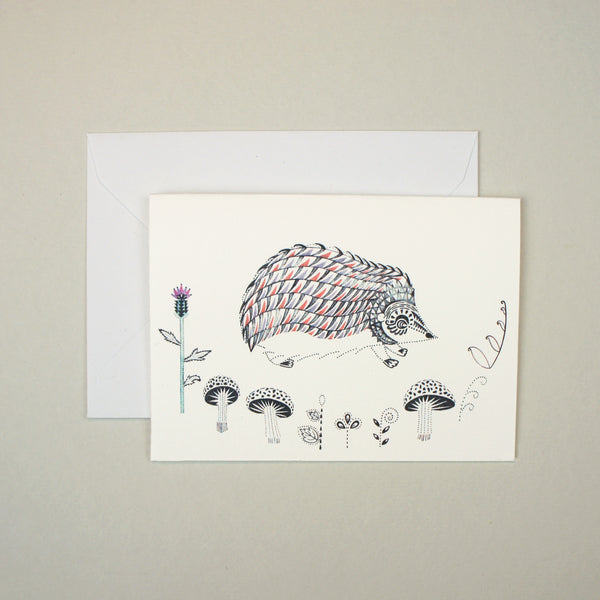 Hedgehog Mini Card