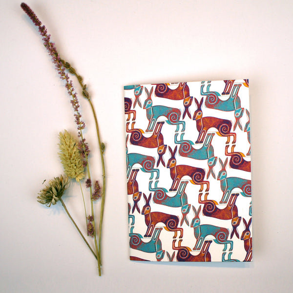 A6 Notebook - A Husk of Hares