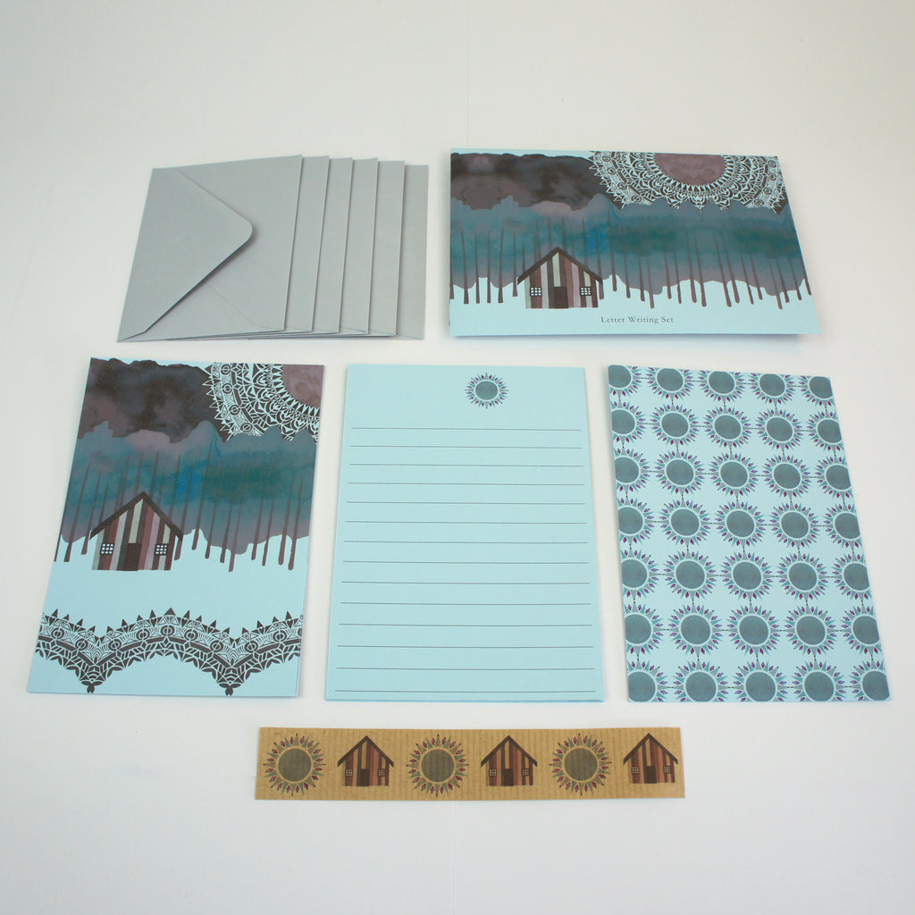 Sun Dance Mini Letter Writing Set