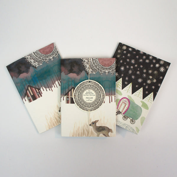 Set of Two Mini Notebooks - Wanderlust