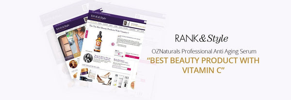 Best Beauty Product with Vitamin C-OZNaturals