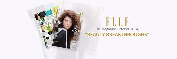 ELLE Beauty Breakthroughs-OZNaturals