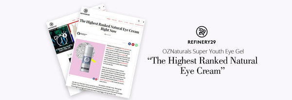 Refinery 29 The Highest Ranked Natural Eye Cream-OZNaturals