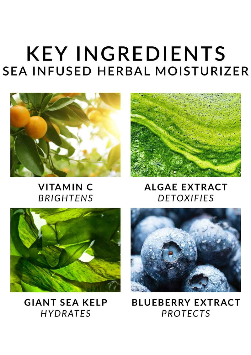 Sea Infused Herbal Moisturizer