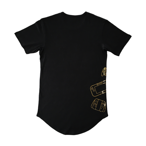 Controllers Longline Tee Gold Edition Back