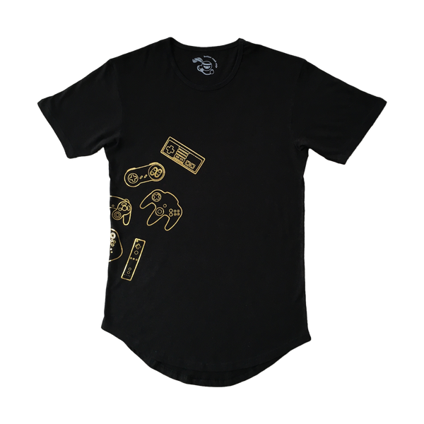 Controllers Longline Tee Gold Edition Front