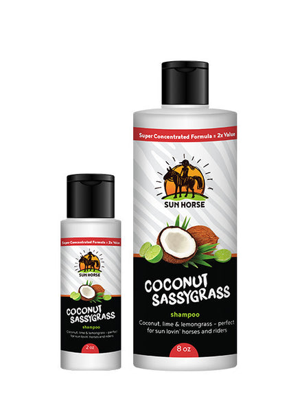 Coconut Sassygrass Shampoo Bundle