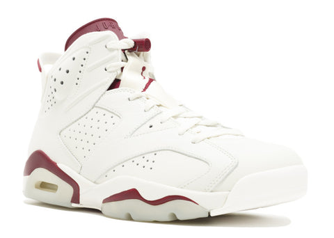 "AIR JORDAN 6 ""MAROON"""