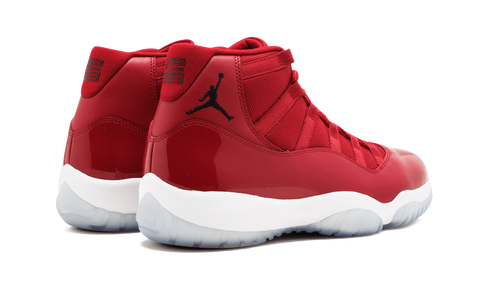 "AIR JORDAN 11 ""WIN LIKE 96"" (GYM RED)"