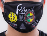 Black Pyramid World Famous face mask (black)