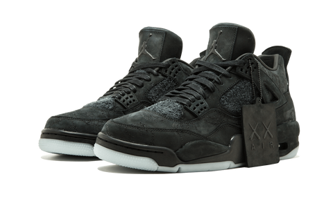 "AIR JORDAN 4 ""KAWS"" (BLACK)"