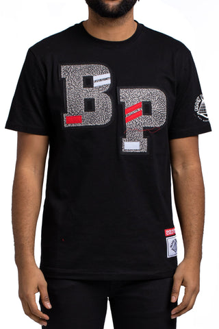 Black Pyramid BP Cement Tee (BLACK)