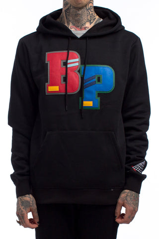Black Pyramid Big BP Hoodie (BLACK)