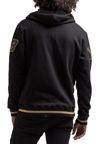 Black Pyramid OHB Checker Hoodie