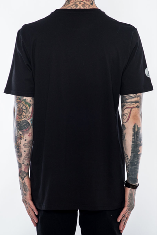 Black Pyramid Party Circle Tee (BLACK)