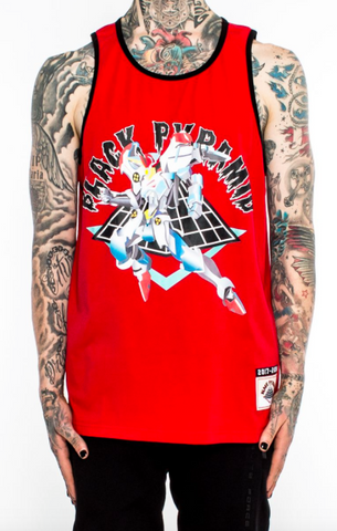 "Black Pyramid ""War Ready"" BB Jersey (RED)"