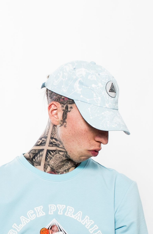 Black Pyramid Constellation Dad Cap (ICE BLUE)