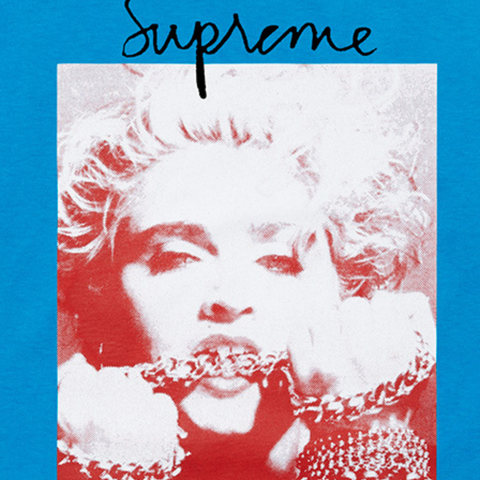Supreme Madonna Tee (BRIGHT BLUE)