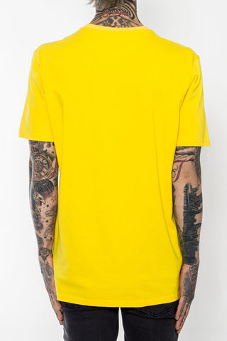 Black Pyramid Eyeball Tee (YELLOW)