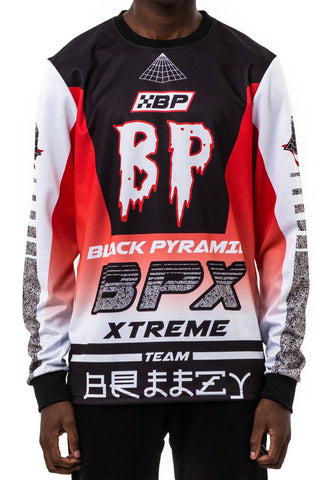 Black Pyramid BPX Moto LS Shirt (RED)