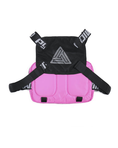 Black Pyramid Chest Rig (Pink)
