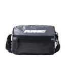 Black Pyramid Medium Tech Shoulder Bag (SILVER)