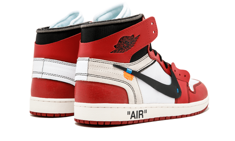 "AIR JORDAN 1 ""OFF WHITE"""