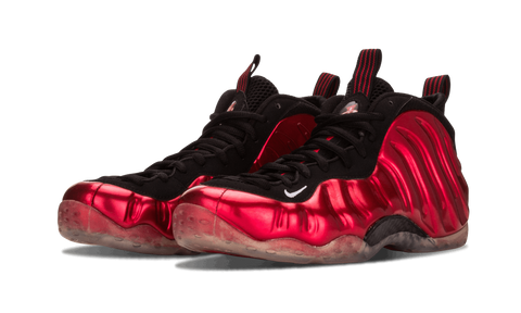 "NIKE AIR FOAMPOSITE ONE ""METALLIC RED"""