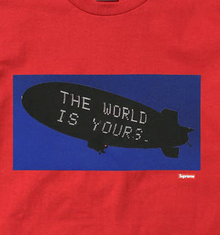 Supreme Scarface Blimp Tee (RED)