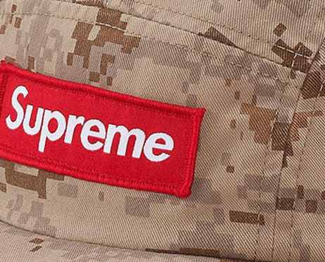 Supreme NYCO Twill Camp Cap (TAN)