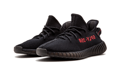 Adidas Yeezy Boost 350v2 (Black/Red)