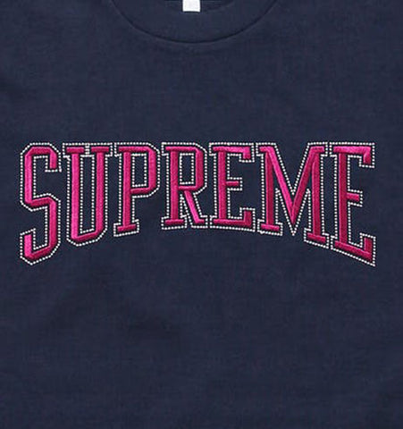 "Supreme ""Dotted Arc"" Tee (NAVY)"