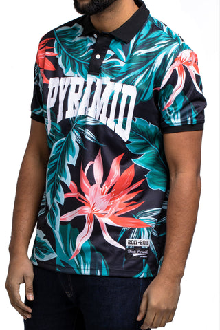 Black Pyramid Foliage Polo