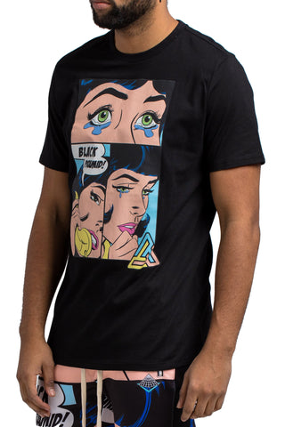 Black Pyramid She's Calling Tee (BLACK)
